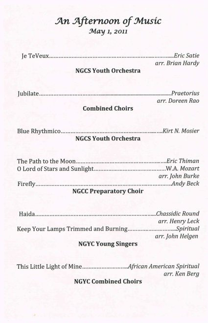 Spring 2011 Combined concert p2
